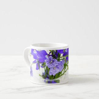 Blue lobelia lovely espresso mug