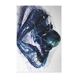 BLUE LOBSTER GALLERY WRAPPED CANVAS