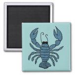 Blue Lobster magnet