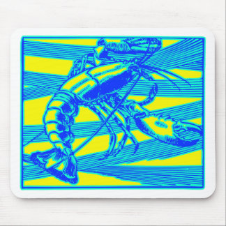 Blue Lobster Maine Ocean Crustacean Mouse Pad