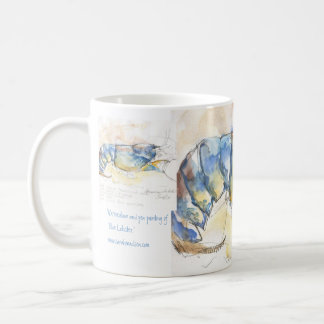 Blue Lobster Classic White Coffee Mug