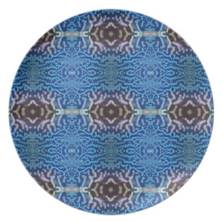 Blue lobster party plates
