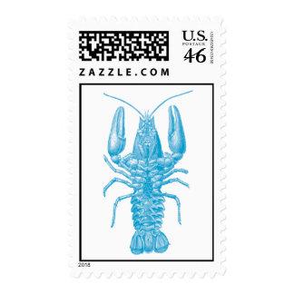 Blue Lobster Stamps