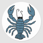 Blue Lobster stickers