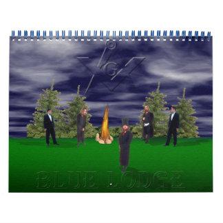 BLUE LODGE Calendar