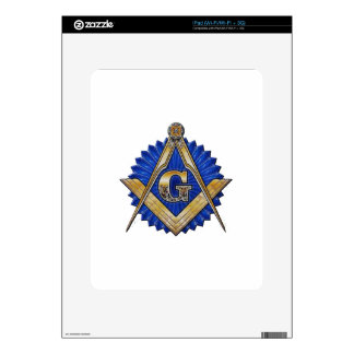 Blue Lodge Mason Decals For The iPad