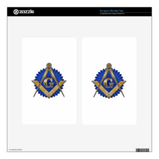 Blue Lodge Mason Kindle Fire Decals