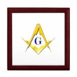 Blue Lodge Square & Compasses Gift Box