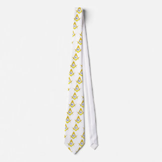 Blue Lodge Square & Compasses Tie