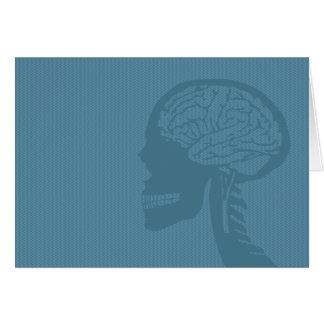blue logicskull card