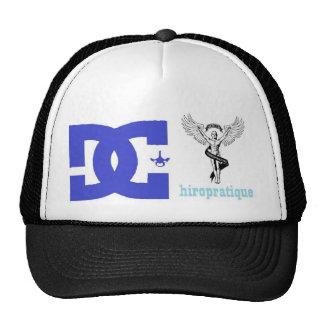 blue logo cd. trucker hat