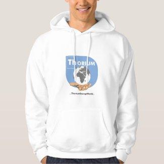Blue Logo Thorium hoodie