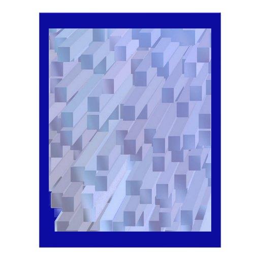 "Blue Logs 8.5"" X 11"" Flyer"