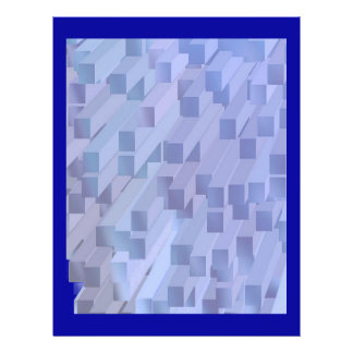 Blue Logs Custom Flyer