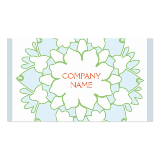 Blue Lotus Business Card