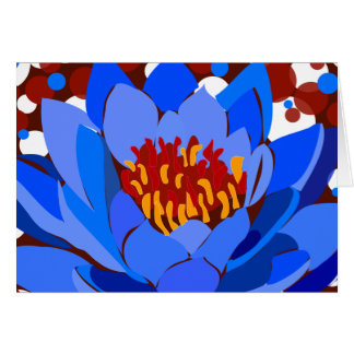 Blue Lotus Card
