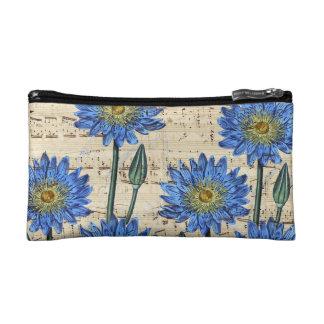 Blue Lotus Dream Cosmetic Bag