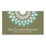 Blue Lotus Family Therapist Appointment Business Card