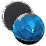 Blue Lotus Flower Magnets