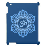 Blue Lotus Flower Om Cover For The iPad