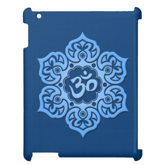 Blue Lotus Flower Om Cover For The iPad 2 3 4