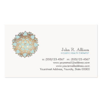 Blue Lotus Holistic Healing Arts and Wellness Double-Sided Standard Business Cards (Pack Of 100)