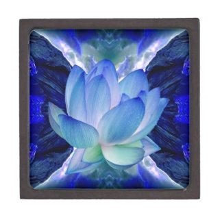 Blue lotus lily gift box
