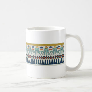 Blue lotus motif of Pairy Classic White Coffee Mug