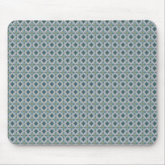 Blue lotus mouse pad
