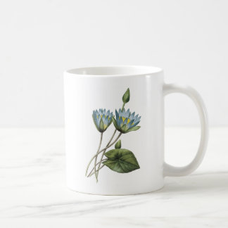 blue lotus(Nymphaea caerulea) by Redouté Coffee Mug