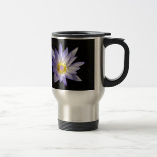 blue lotus of the Nile Travel Mug