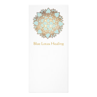 Blue Lotus Rack Card
