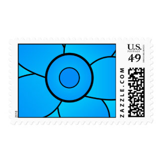 Blue Lotus Series Stamps