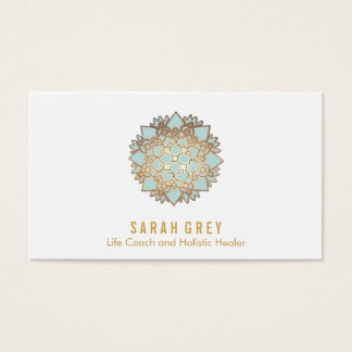 Blue Lotus Wellness & Holistic Health Appointment Business Card
