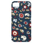 Blue Love Bird Flowers iPhone 5 Case