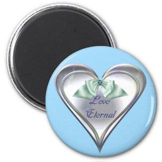 Blue Love Eternal Magnet
