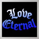 Blue Love Eternal Poster