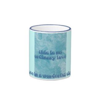 blue love in a mug