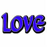 Blue Love Photo Sculpture