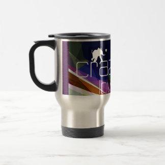 Blue Love run- thermo mug