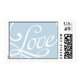 Blue Love Stamp Postal Service Collection