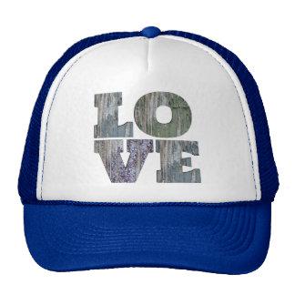 Blue Love Trucker Hat