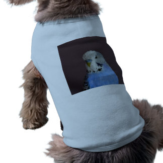 Blue Lovely Budgie Tee
