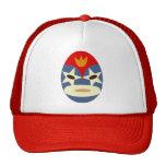 Blue Lucha Libre Mask Trucker Hat