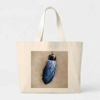 Blue Lucky Rabbit s Foot Tote Bags