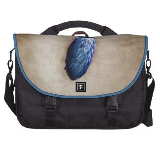 Blue Lucky Rabbit s Foot Laptop Computer Bag