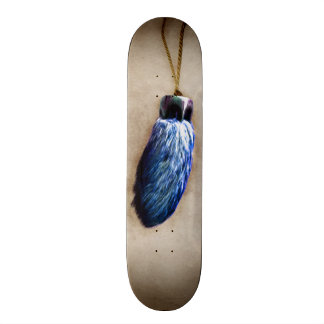 Blue Lucky Rabbit's Foot Skate Boards