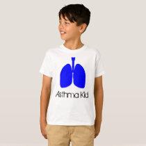 Blue Lungs Asthma Kid Shirt