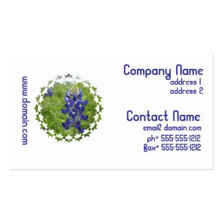 Blue Lupine Business Cards