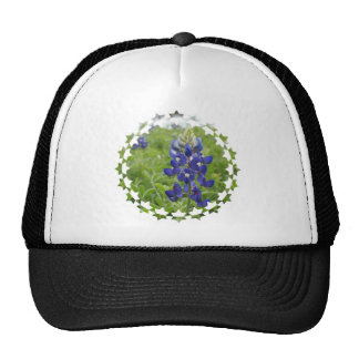 Blue Lupine Mesh Hats